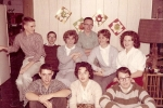 June 1962 - Gary Webster, Kim Bateman, Mary Lou Bunyan,Wayne Moore, Ellen Webster, Diane Inman Front Row - Steve Lockhar
