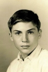 Dave Kennedy's 8th grade picture, still treasured by Meril Penn