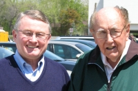 Jack Trumble and Kermit Ambrose April 29th, 2008  (Both got the senior citizen's rate at lunch)