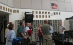 Tour of the band room. Nancy Walls Lamotte, Mike McKenzie, Jere Stone ...